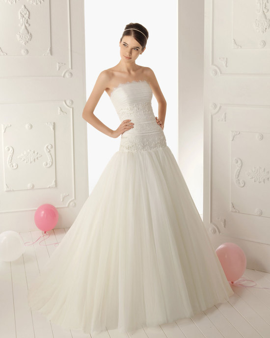2013 wedding dress Aire Barcelona bridal gowns Renata