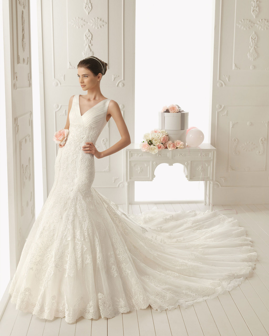 2013 wedding dress by Aire Barcelona bridal gowns Radiente