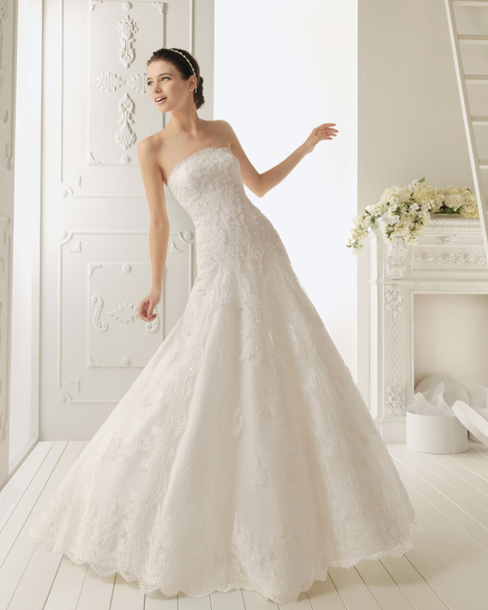 2013 wedding dress by Aire Barcelona bridal gowns Ramses