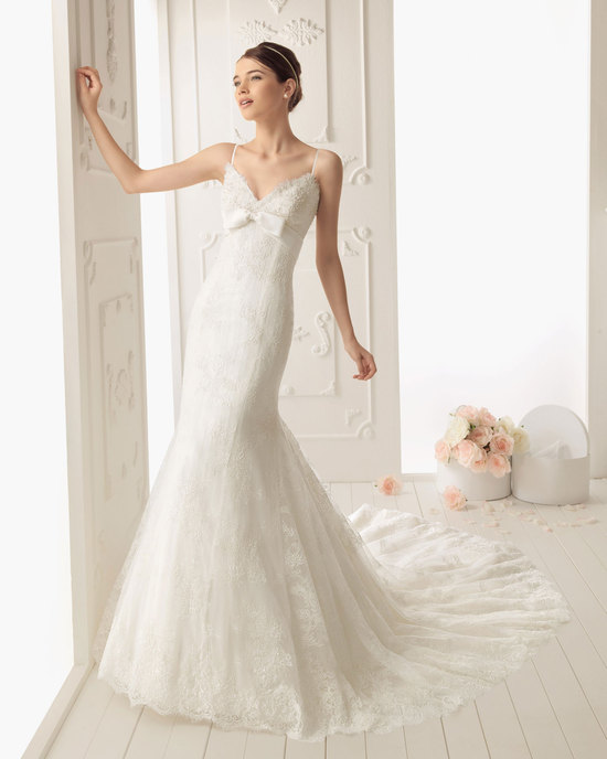 2013 wedding dress by Aire Barcelona bridal gowns Rafia