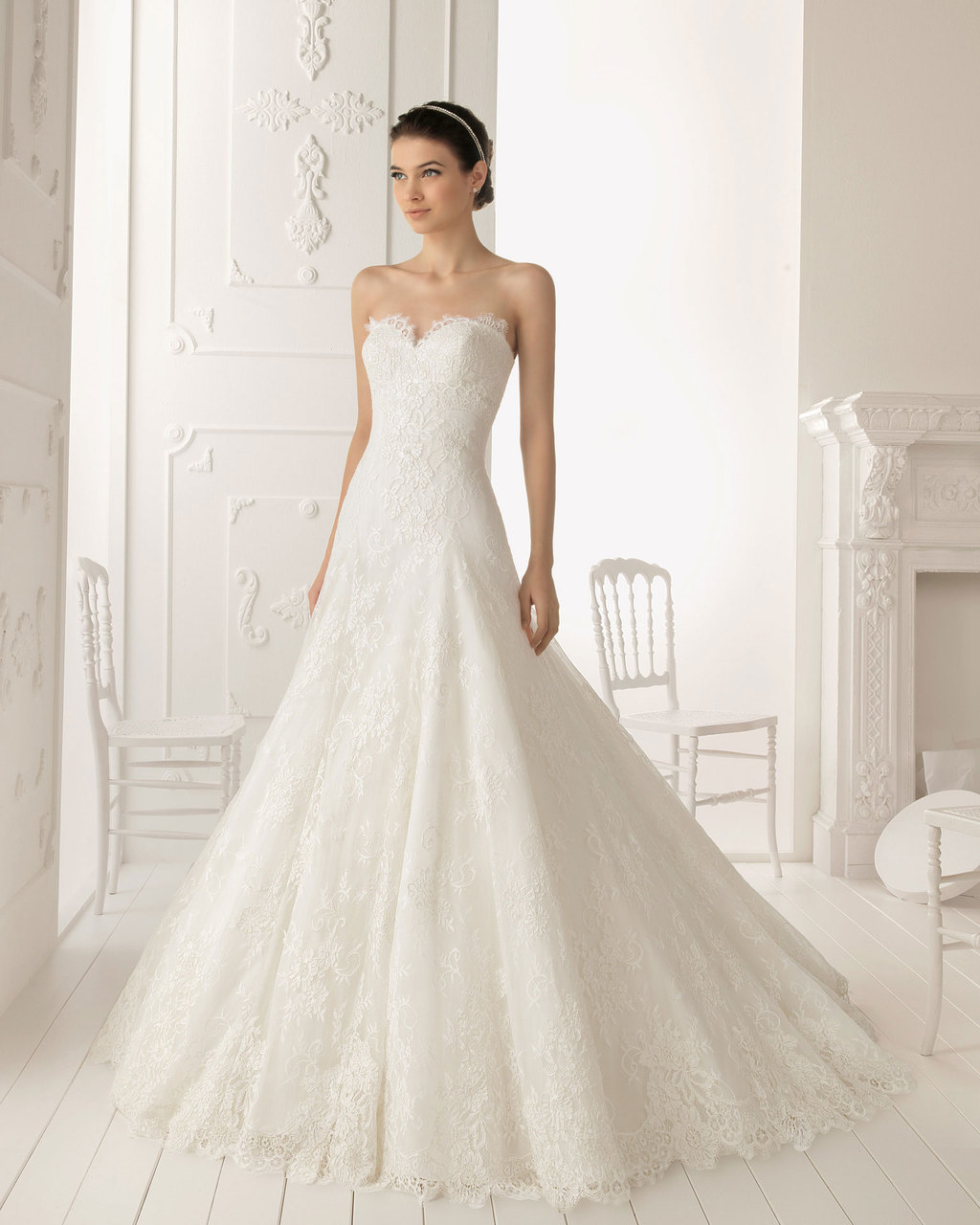 2013 wedding dress by Aire Barcelona bridal gowns Ramo