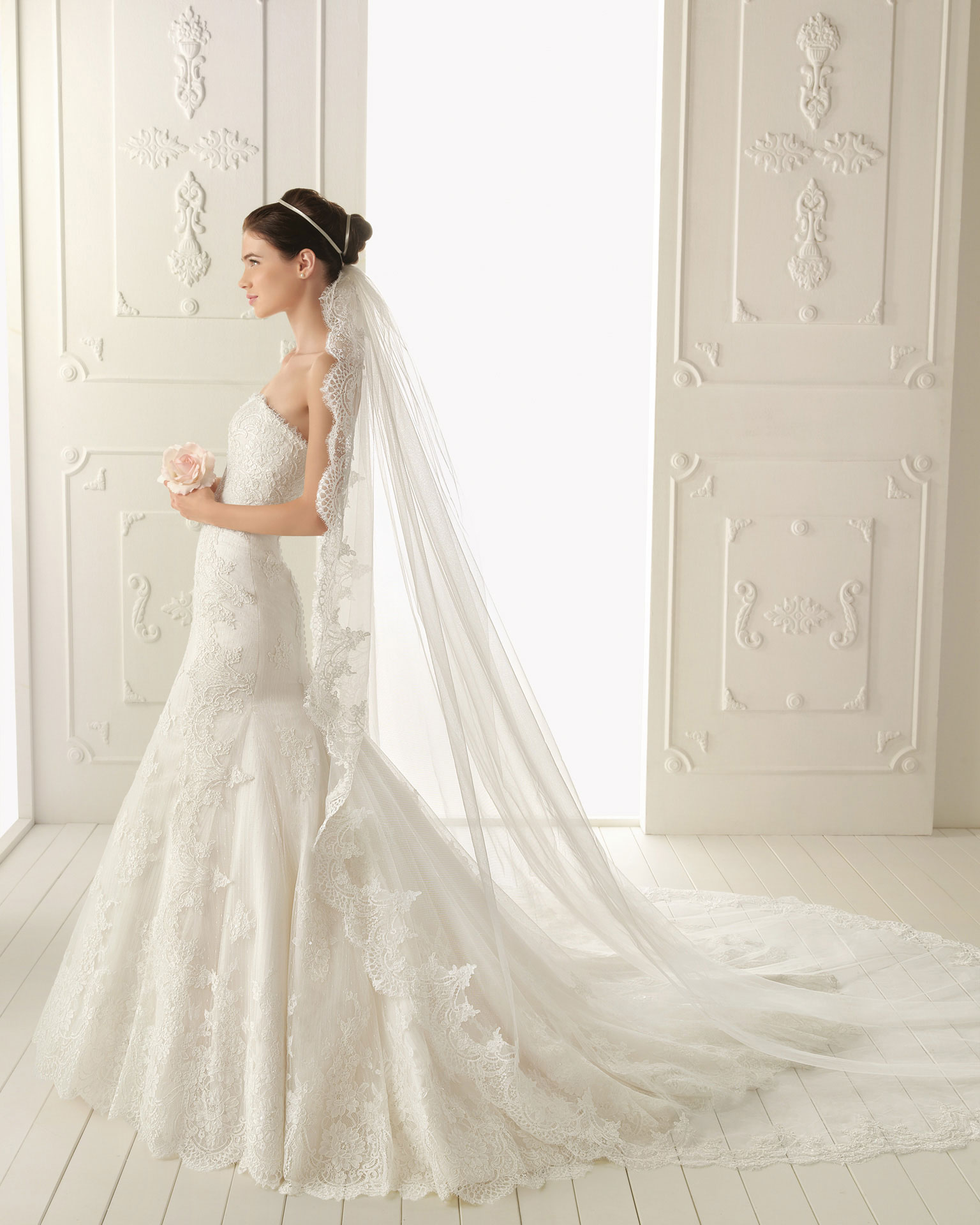 2013 wedding dress by aire barcelona bridal gowns ralph for Wedding dresses in barcelona spain