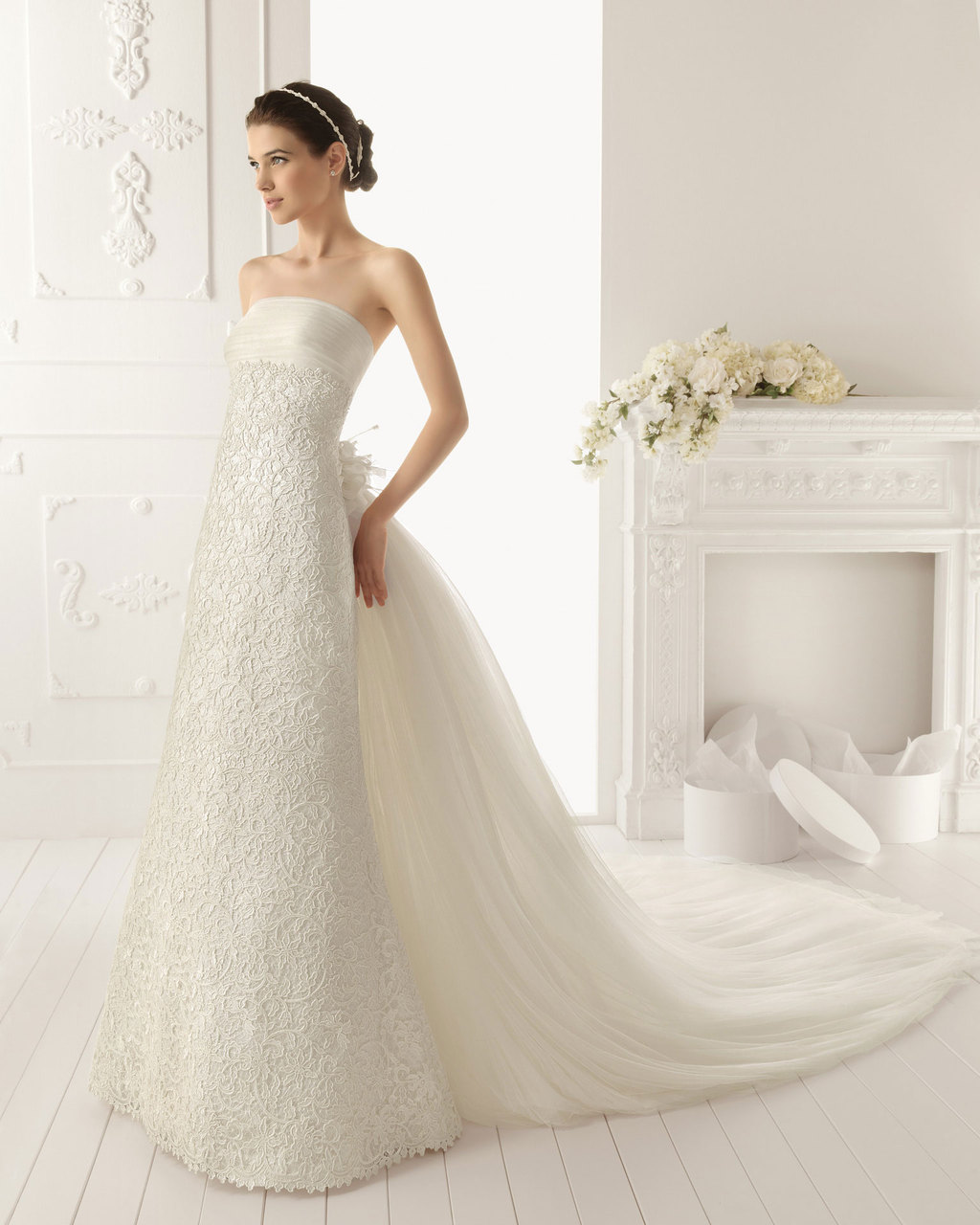 2013 wedding dress by Aire Barcelona bridal gowns Rama