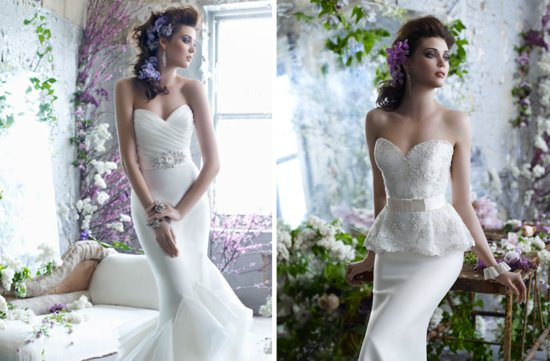 tara keely 2012 wedding dress mermaid bridal gowns