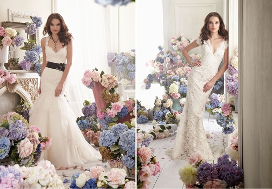 JLM couture wedding dresses Jim Hjelm bridal gown fall 2012 1