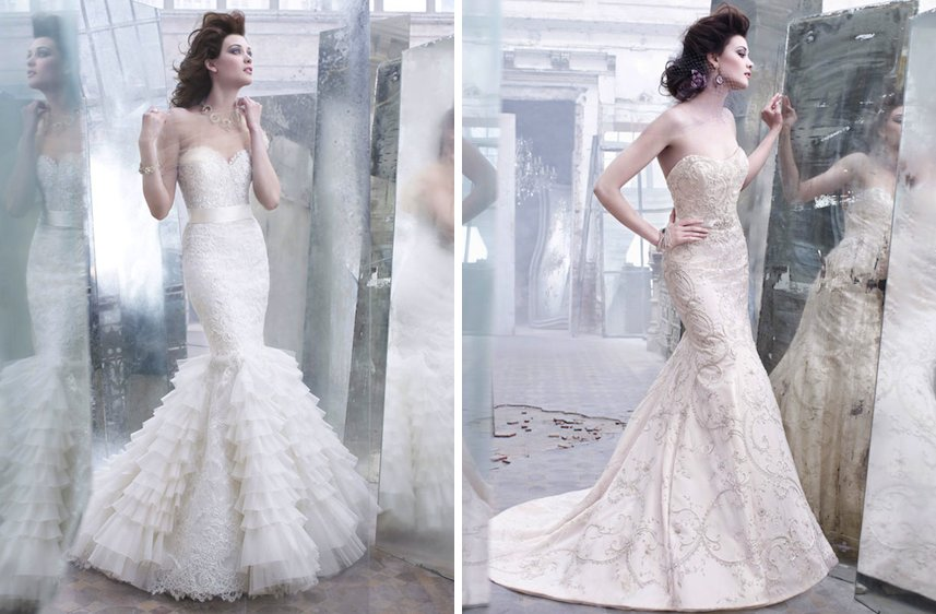 Romantic-fall-2012-wedding-dresses-lazaro-bridal-gown-mermaid-fit-and-flare-beading-applique.full