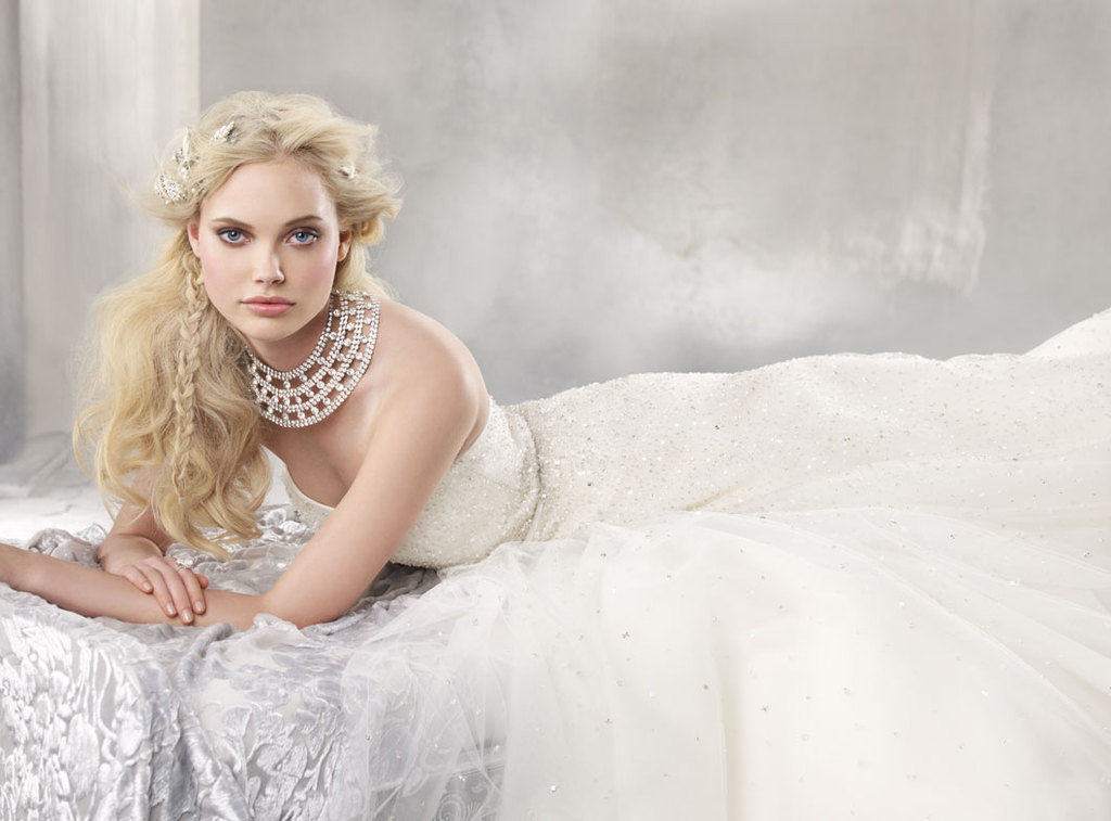fall 2012 wedding dress alvina valenta bridal gowns 9259