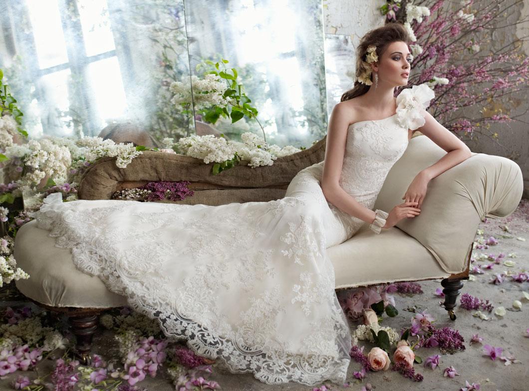 Fall 2012 wedding dress tara keeley bridal gowns one for Fall lace wedding dress