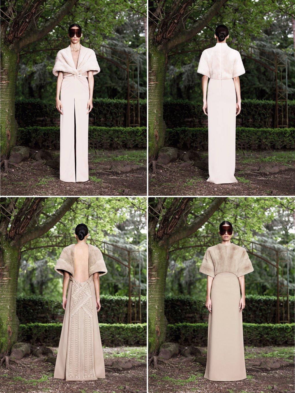 Runway-to-white-aisle-wedding-dress-inspiration-givenchy-beige-cream-wedding-dresses.full