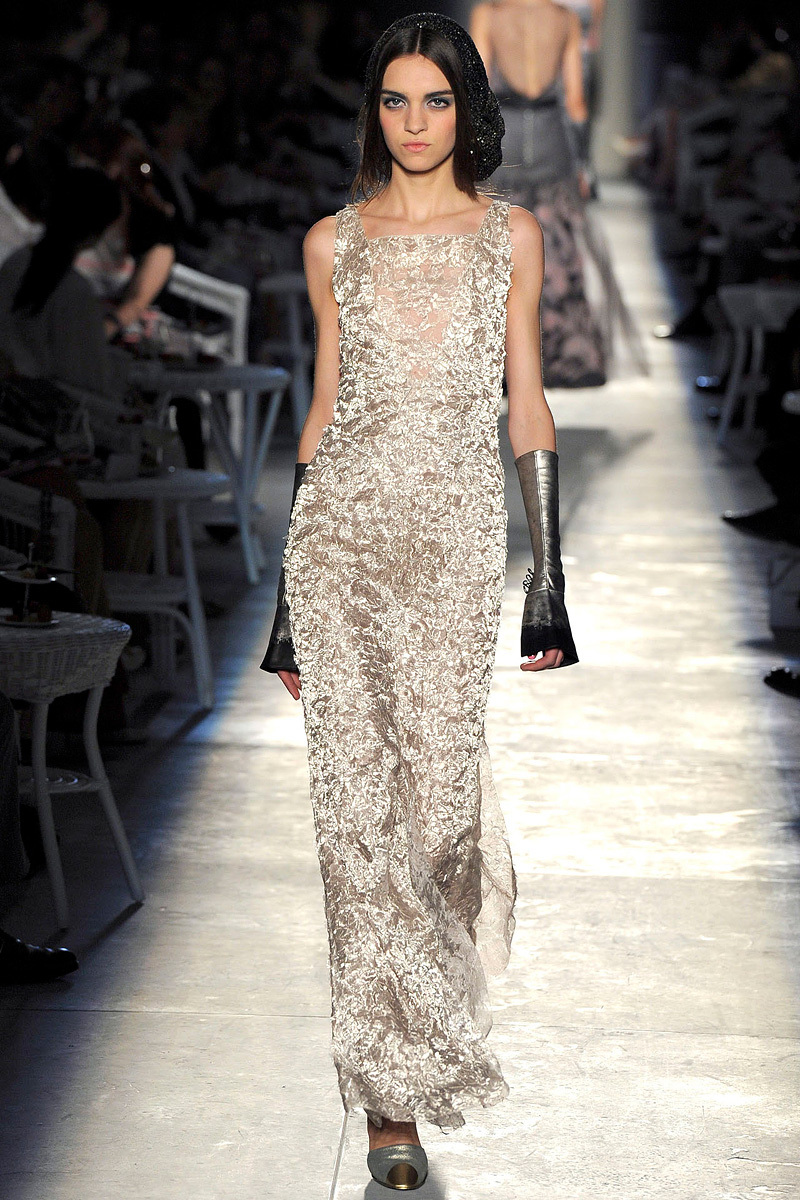 Runway-to-white-aisle-wedding-dress-bridesmaid-dress-inspiration-chanel-gold-sheath.full