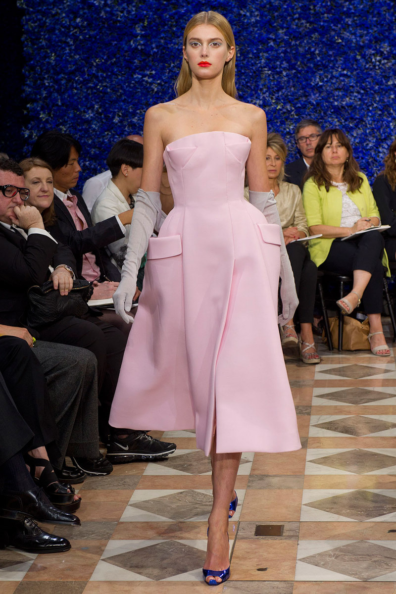 Runway-to-white-aisle-wedding-dress-bridesmaid-dress-inspiration-christian-dior-little-pink-dress.full