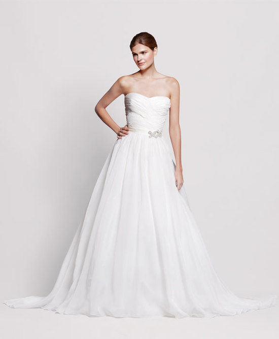 2013 wedding dress Reem Acra for Nordstrom bridal gowns 1