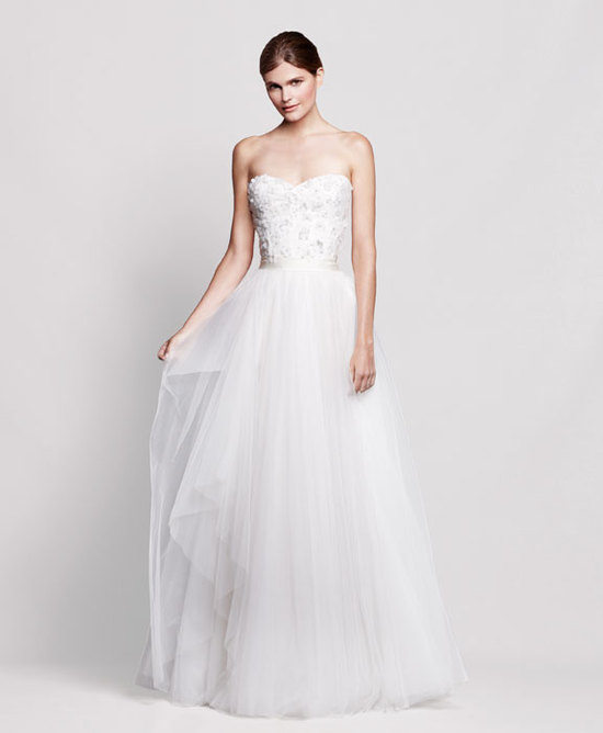 2013 wedding dress Reem Acra for Nordstrom bridal gowns 2