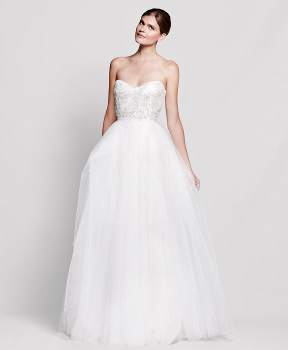 2013 wedding dress Reem Acra for Nordstrom bridal gowns 3