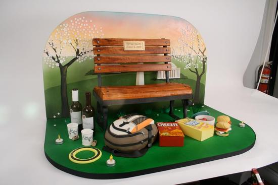 fun wedding cake ideas grooms cakes picnic