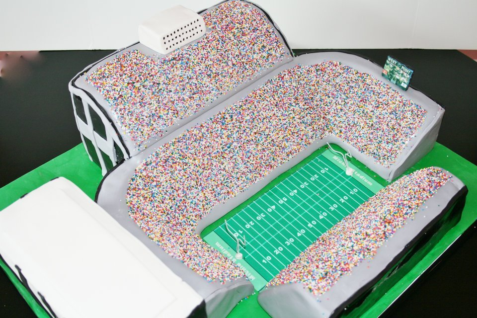 awesome grooms cakes wedding cake ideas sprikle stadium