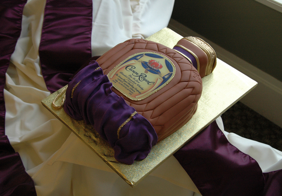 fun wedding cake ideas grooms cakes crown royal