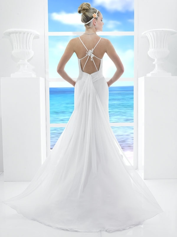 T485-white-column-wedding-dress-spring-2011-casual-beach-wedding-style-back.full