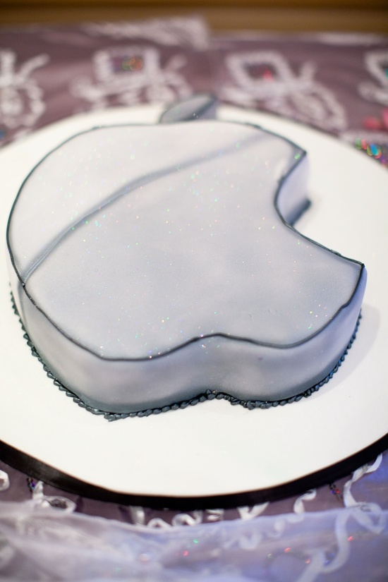 photo of grooms cake for the tech lover