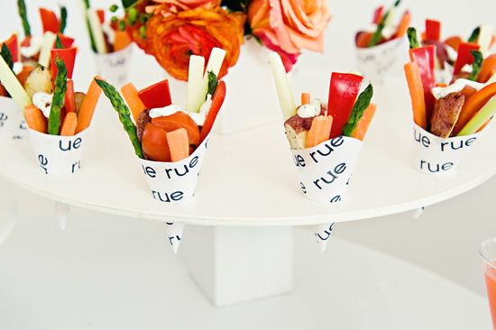 modern wedding reception ideas appetizers