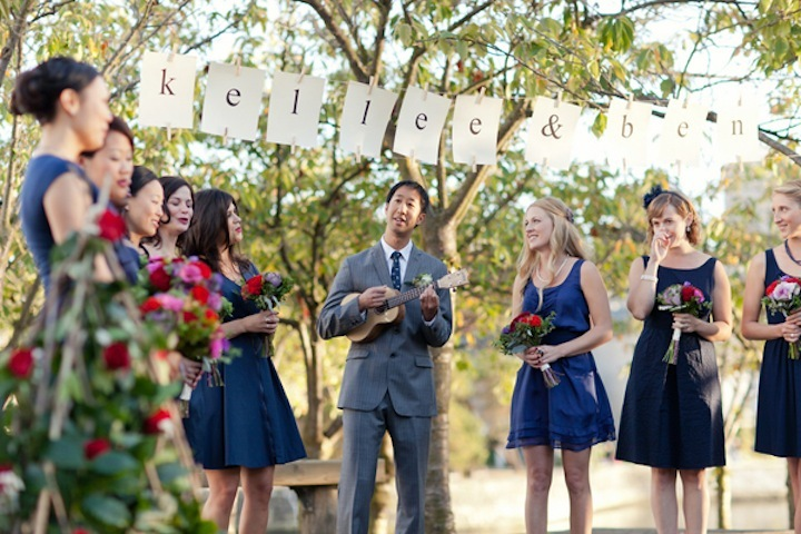 outdoor wedding ideas 4th of July ceremony 1
