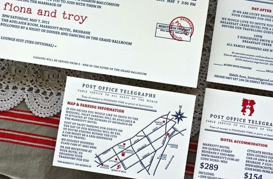 red white and blue wedding inspiration 4th of july weddings letterpress wedding invites 3