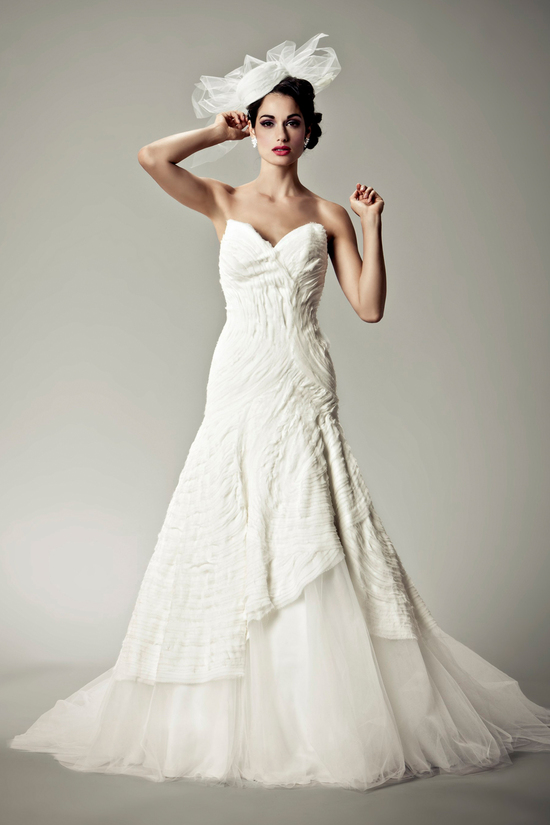 2012 wedding dresses Matthew Christopher bridal gown uma