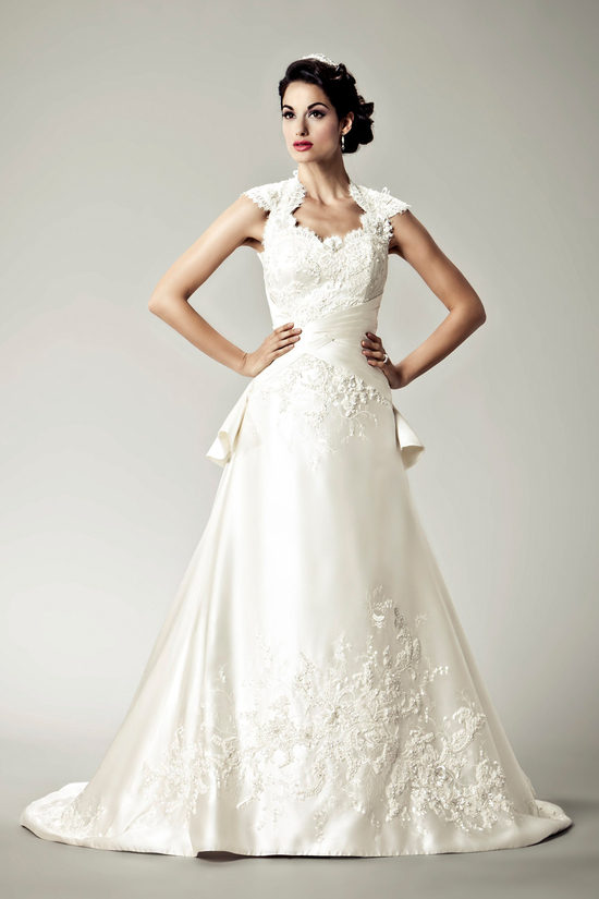 2012 wedding dresses Matthew Christopher bridal gown grace