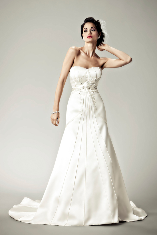 2012 wedding dresses Matthew Christopher bridal gown bijou