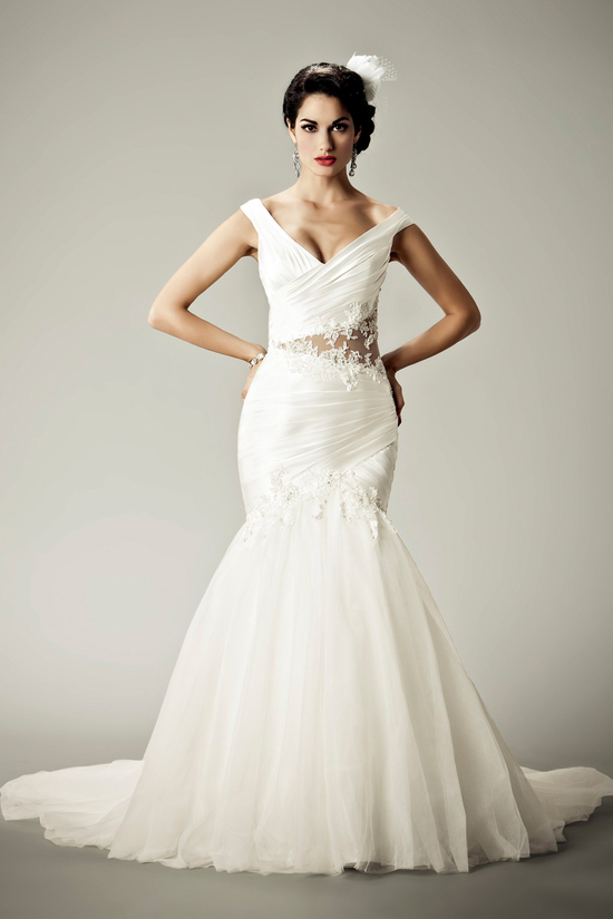 2012 wedding dresses Matthew Christopher bridal gown pretty