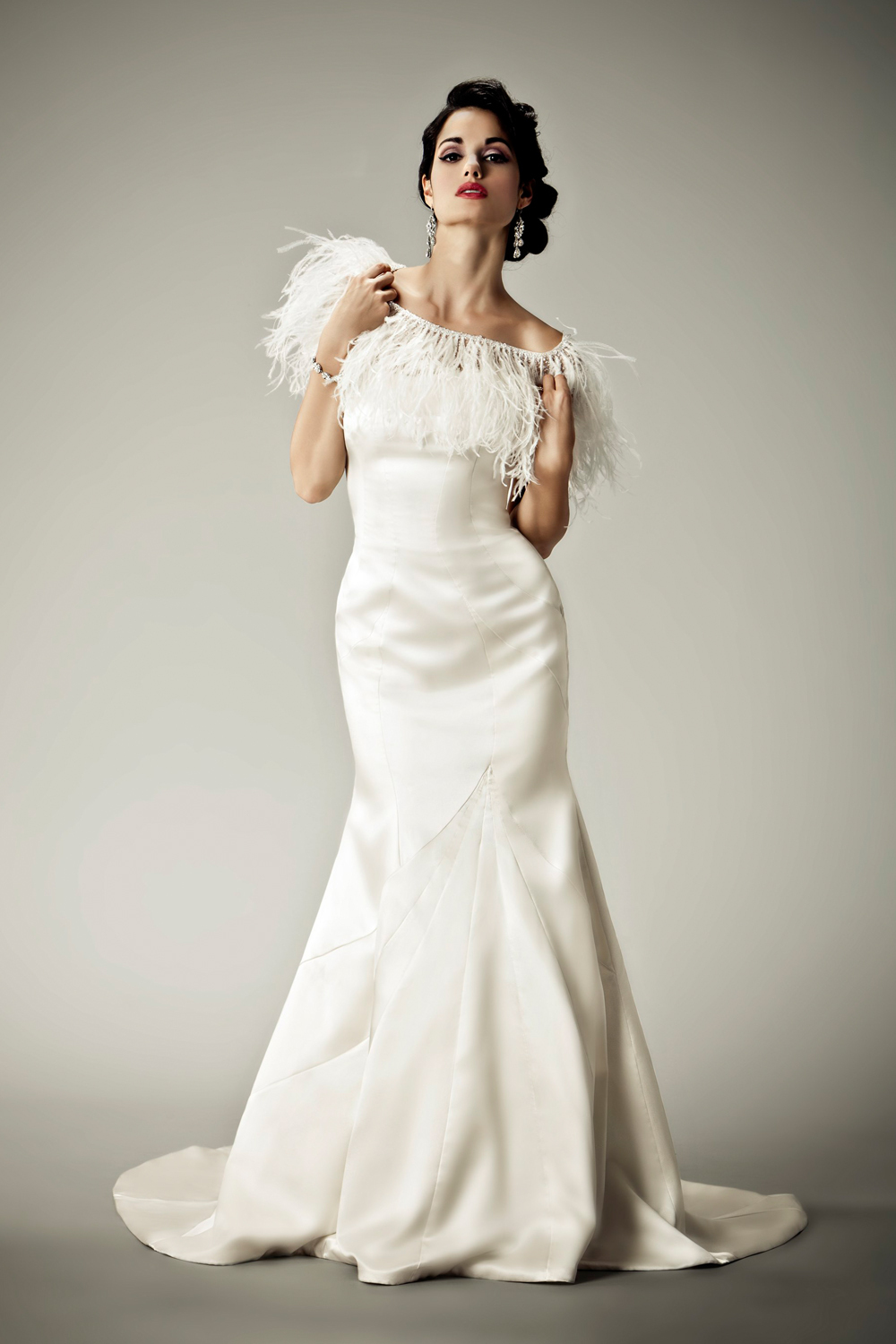 2012 wedding dresses Matthew Christopher bridal gown tigris