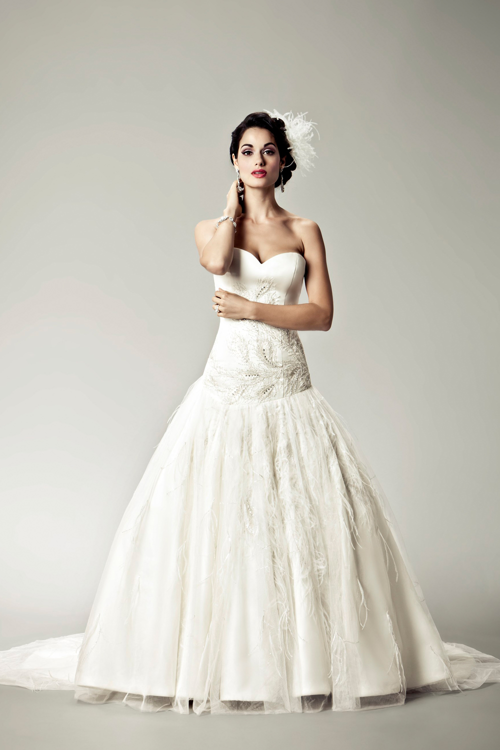 2012 wedding dresses Matthew Christopher bridal gown ava