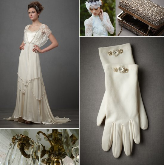 downton abbey wedding style vintage brides