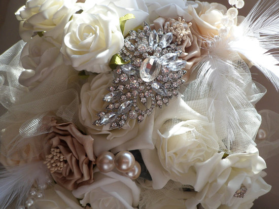 vintage wedding ideas Downton Abbey edwardian wedding style bridal bouquet