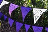 Handmade-wedding-ideas-reception-decor-bunting-banners-purple-white.square