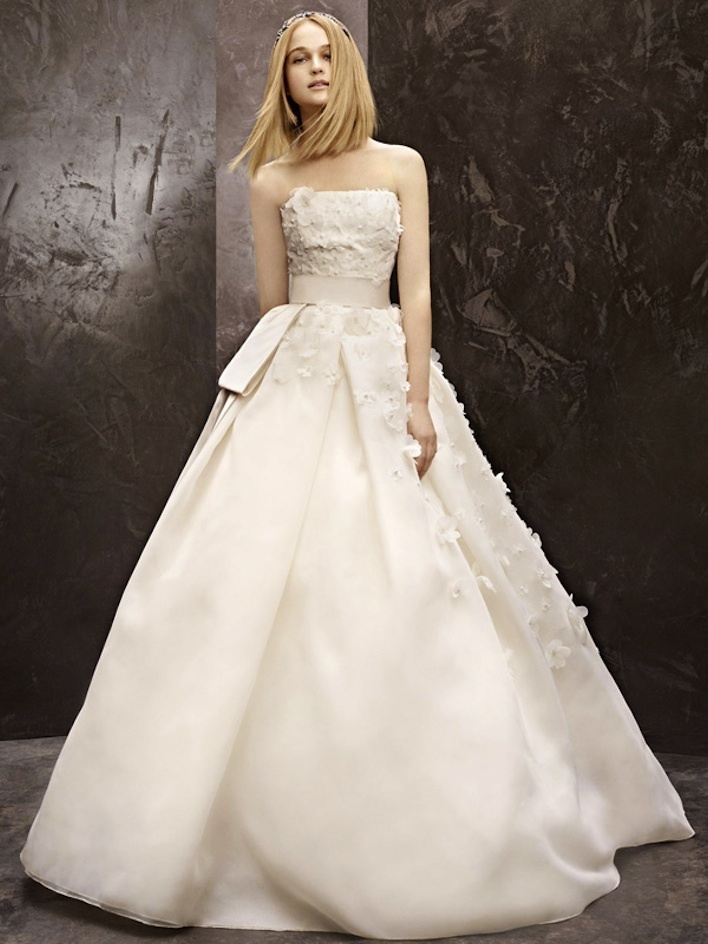 Fall 2012 wedding dress white by vera wang bridal gowns for White vera wang wedding dresses