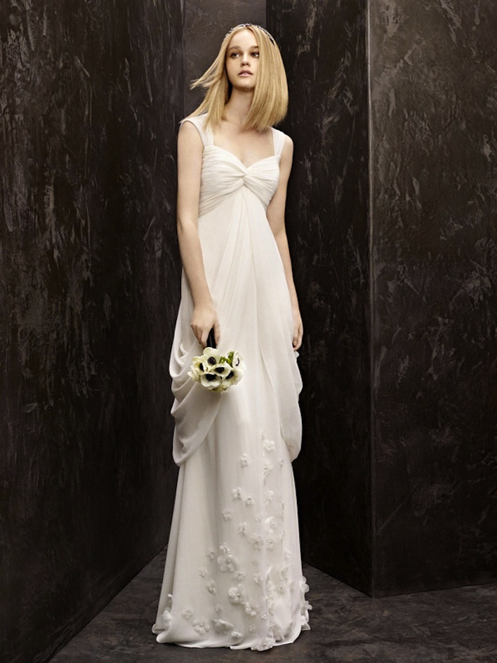 fall 2012 wedding dress White by Vera Wang bridal gowns vw351139