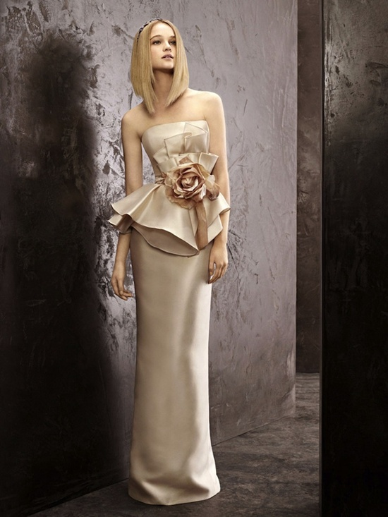 fall 2012 wedding dress White by Vera Wang bridal gowns vw351141