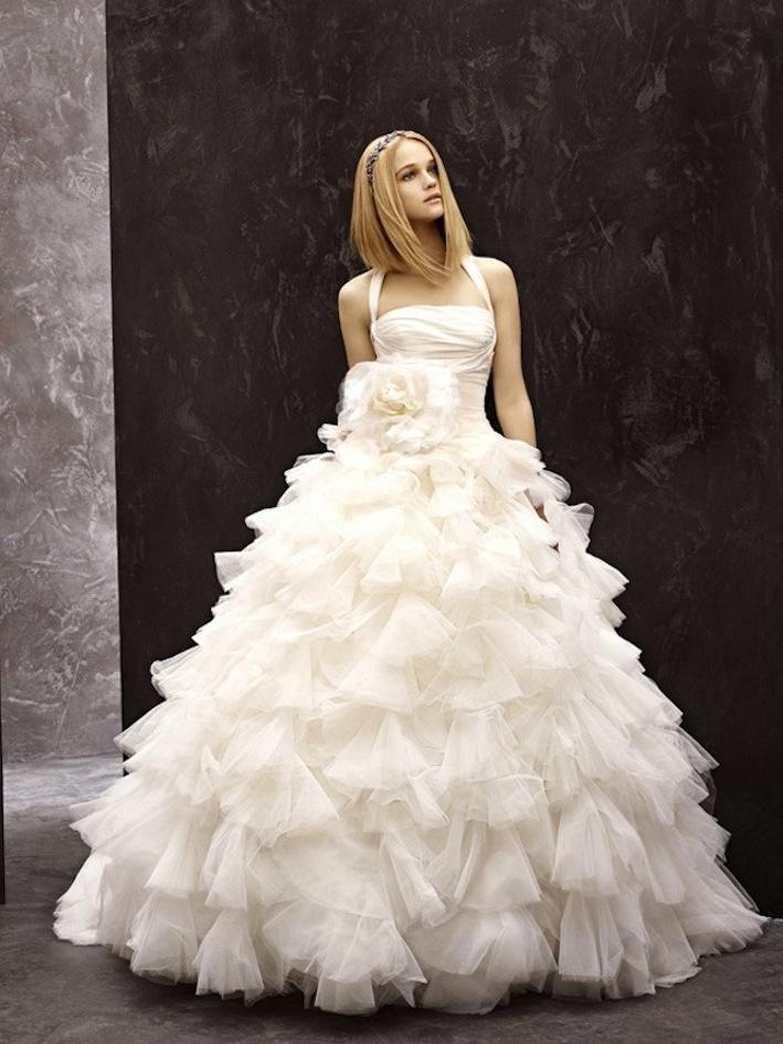 Fall 2012 wedding dress white by vera wang bridal gowns for Buy vera wang wedding dresses