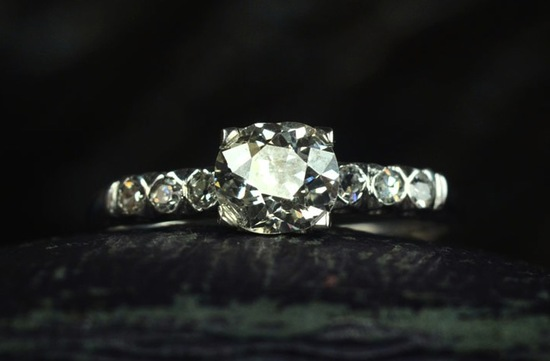 antique engagement rings for vintage brides 14