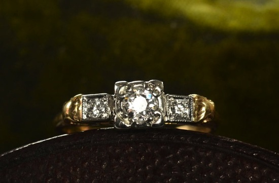 antique engagement rings for vintage brides 11