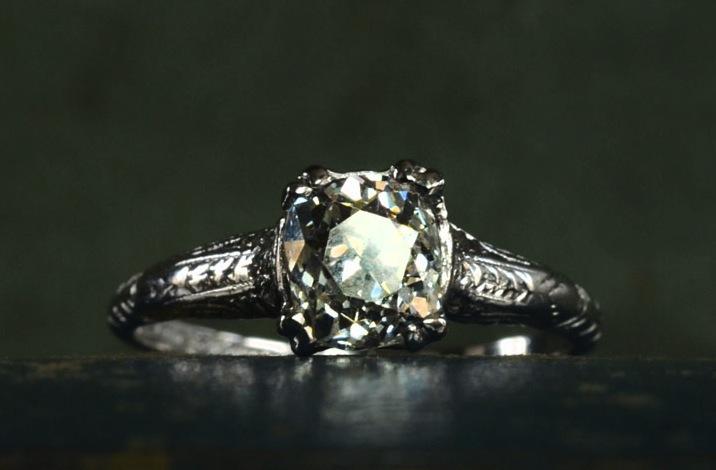 antique engagement rings for vintage brides 2