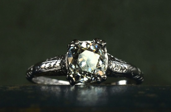 antique engagement rings for vintage brides 7