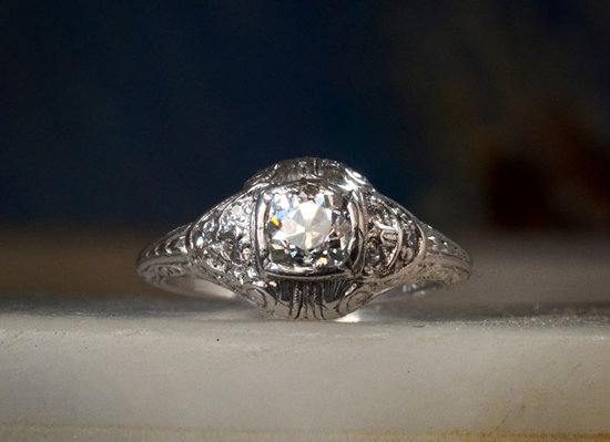 antique engagement rings for vintage brides 8