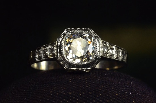 antique engagement rings for vintage brides 5