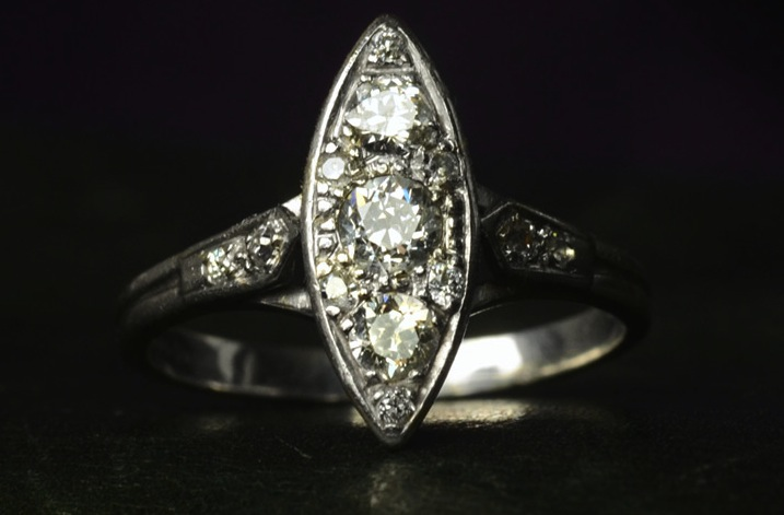 vintage engagement rings unique wedding jewelry 1930s