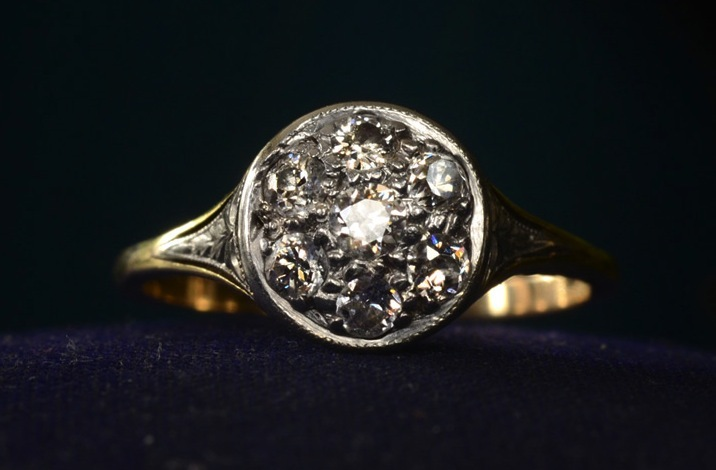 Vintage-engagement-rings-unique-wedding-jewelry-1920s-art-deco-cluster.full