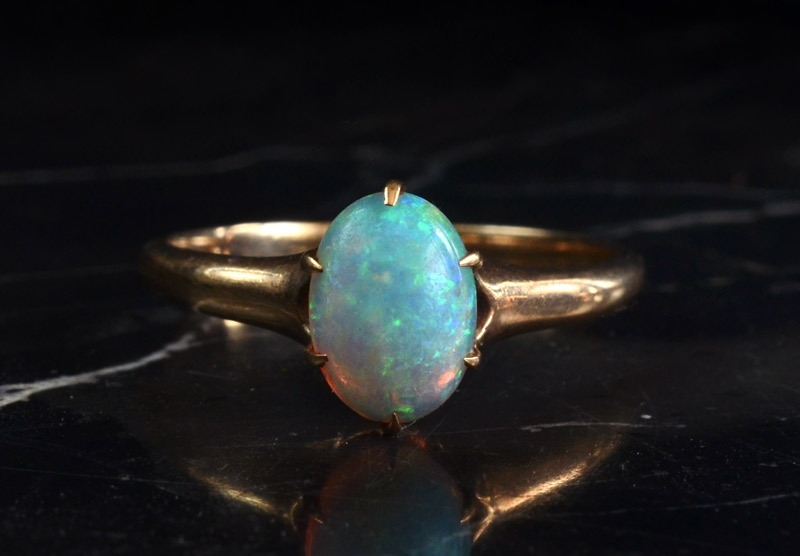 vintage engagement rings unique wedding jewelry opal 1910s