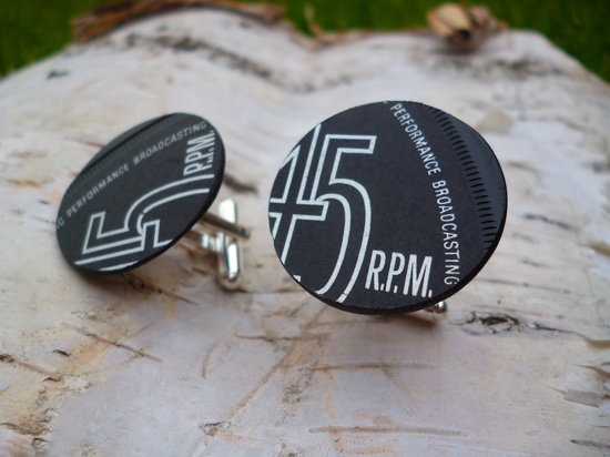 vintage inspired cufflinks for the groom
