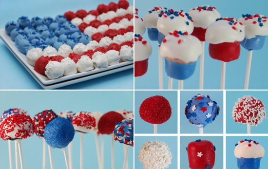 fourth of july wedding ideas cake pops wedding cake alternatives
